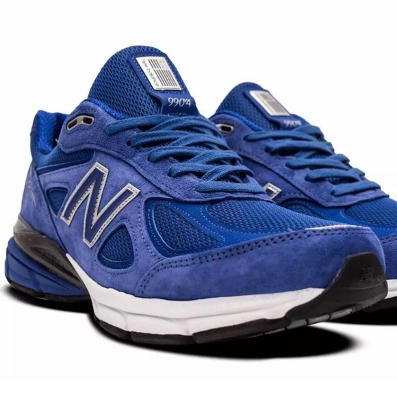 new concept 8dcf7 b2ee5 New Balance 990v4 Mens Size 8 Royal Blue USA MADE! NWT